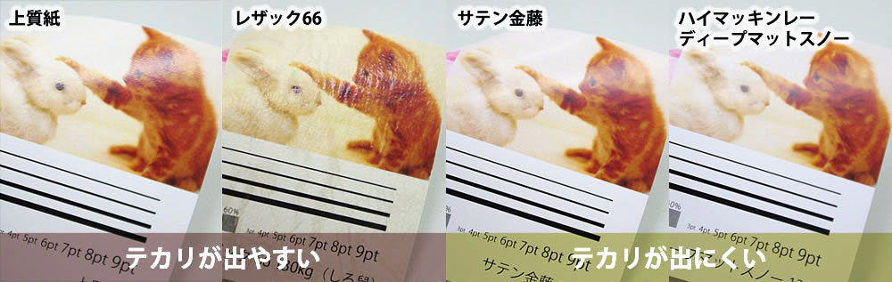紙質について | いろいろな印刷を毎日お手ごろな価格で印刷 ...